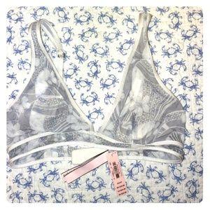 Victoria's secret bralette xs bridal lingerie whit